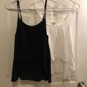 Two for one special crop tops never worn with tags